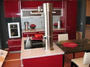 Кухня под заказ в стиле хай-тек