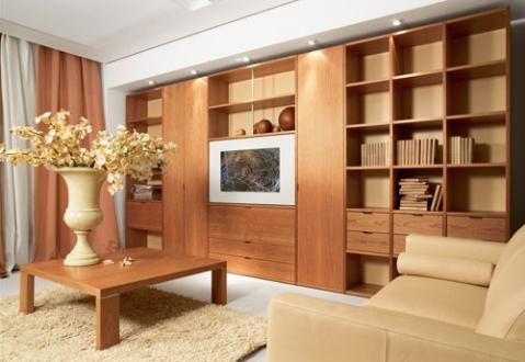 Мебельная стенка из четырех предметов