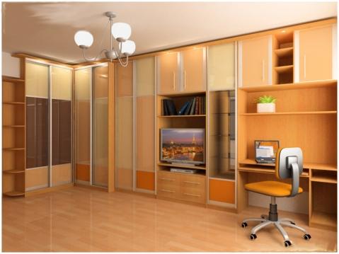 Мебельная стенка и шкафы-купе