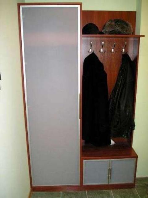 Прихожая и плательный шкаф