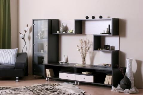 Мебельная горка из четырех предметов