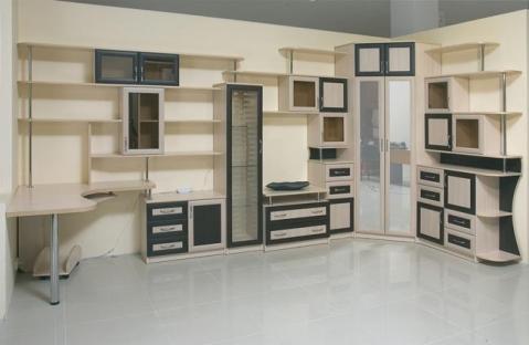 Мебельная секция, шкаф и рабочее место